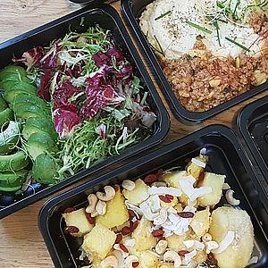 Vegatariánské krabičkové stravování