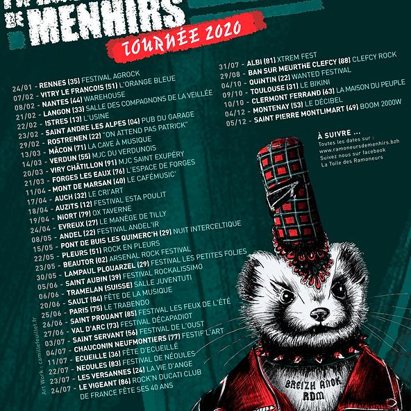 TOURNÉE 2020  LES RAMONEURS DE MENHIRS