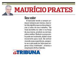Coluna Maurício Prates - A Tribuna