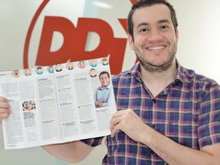 Revista Gestão e Negócios - Nossa primeira participação em uma revista de circulação nacional