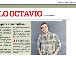Matéria na AT2, Coluna Paulo Octavio - A Tribuna