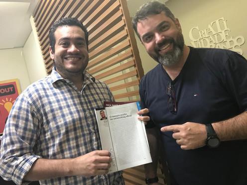 Participação na revista Minas Network