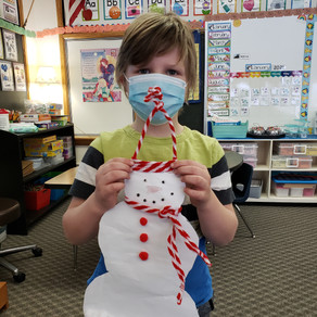 Snowman January Family Project