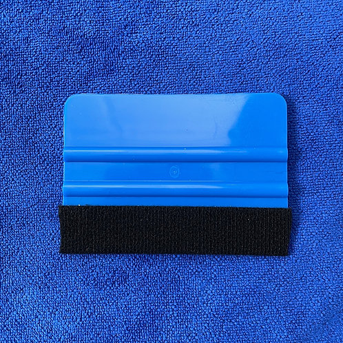 Blue 3M Felt Edge Hard Card