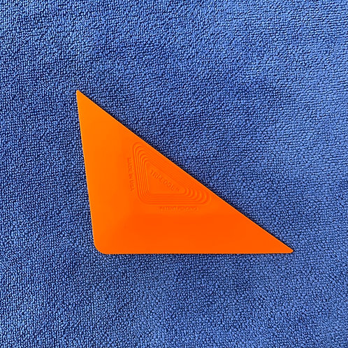 Orange Tri-Edge Hard Card