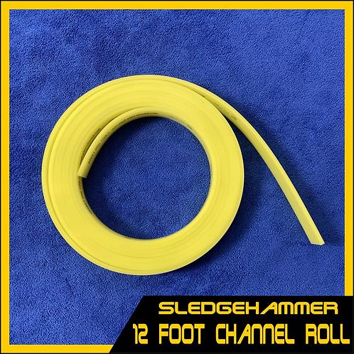 Sledgehammer - 12 Foot Roll of Channel Blade