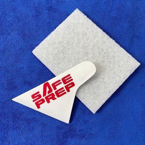 Safe Prep Scraper and pad kit