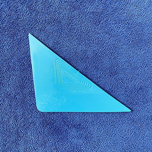 Blue Tri-Edge Hard Card
