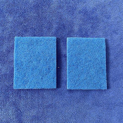2 pack 3M Blue scrub pads