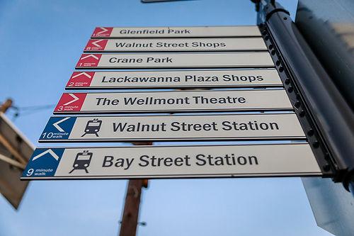 Montclair Pedestrian Wayfinding