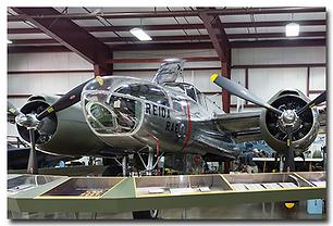 New England Air Museum plane exhibit