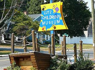Lutz Children's Museum sign