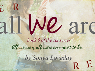 All We Are - Cover Reveal PLUS insider information on the end of The Six Series!