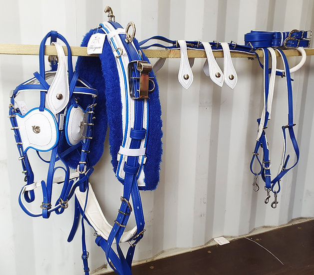 Biothane Quick Hitch Horse Harness