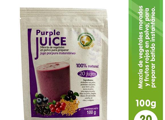 Purple Juice (Jugo Morado)