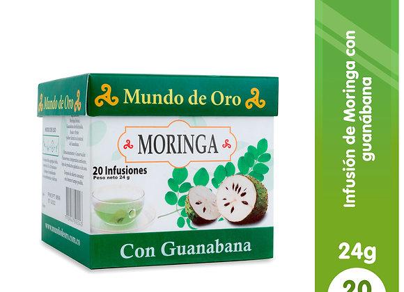 Moringa Té Guanabana