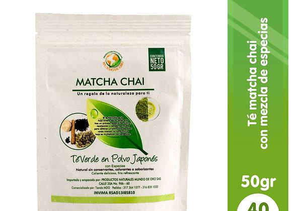 Matcha CHAI X 50grs
