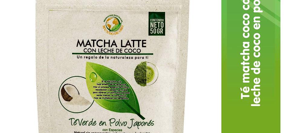 Matcha Latte de Coco! x 50grs