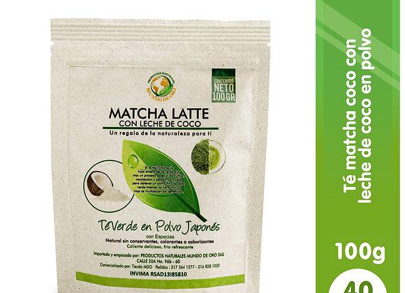 Matcha Latte de Coco! x 100 grs
