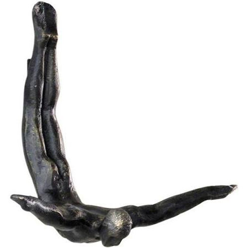 Wall Diver Sculpture