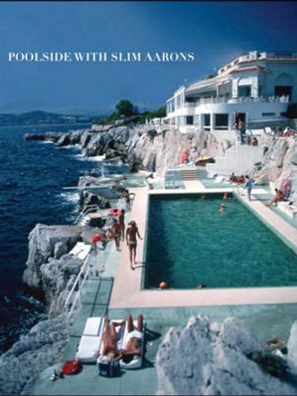 Poolside with Slim Aarons Hardcover Book