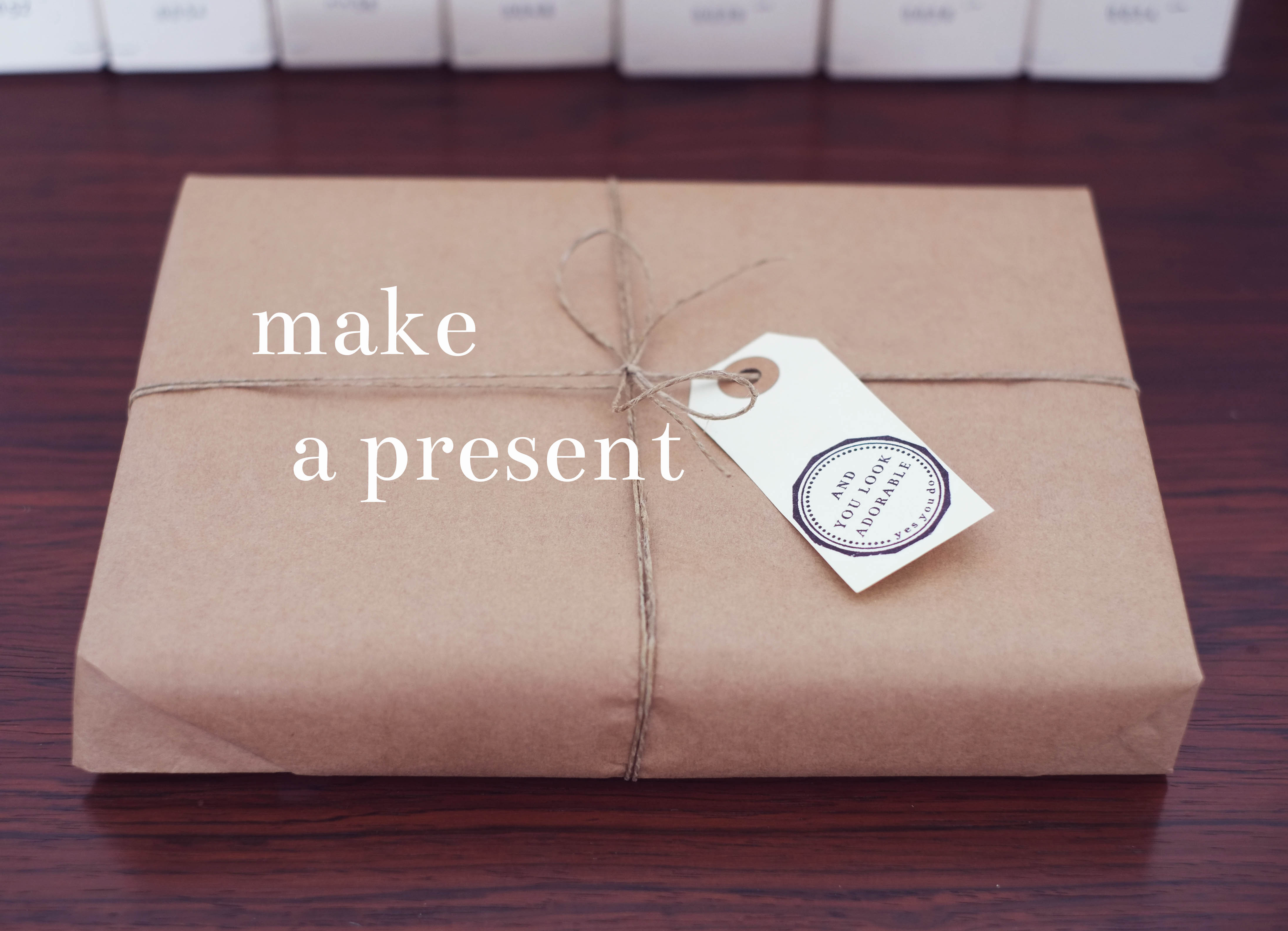 present and you look adorable