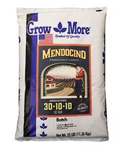 GROW MORE MENDOCINO 30-10-10 25 LB