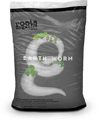 ROOTS ORGANICS EARTHWORM 1 CU FT