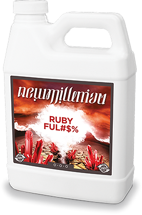 NEW MILLENIUM RUBY FUL#$% 1 QT