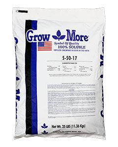 GROW MORE 5-50-17 25 LB