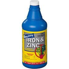 LIQUINOX IRON & ZINC QT