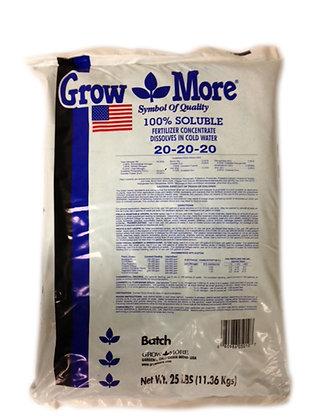 GROW MORE 20-20-20 25 LB