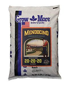 GROW MORE MENDOCINO 20-20-20 25 LB
