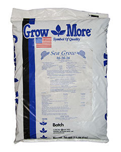 GROW MORE SEA GROW 16-16-16 25 LB