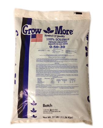 GROW MORE 0-50-30 25 LB