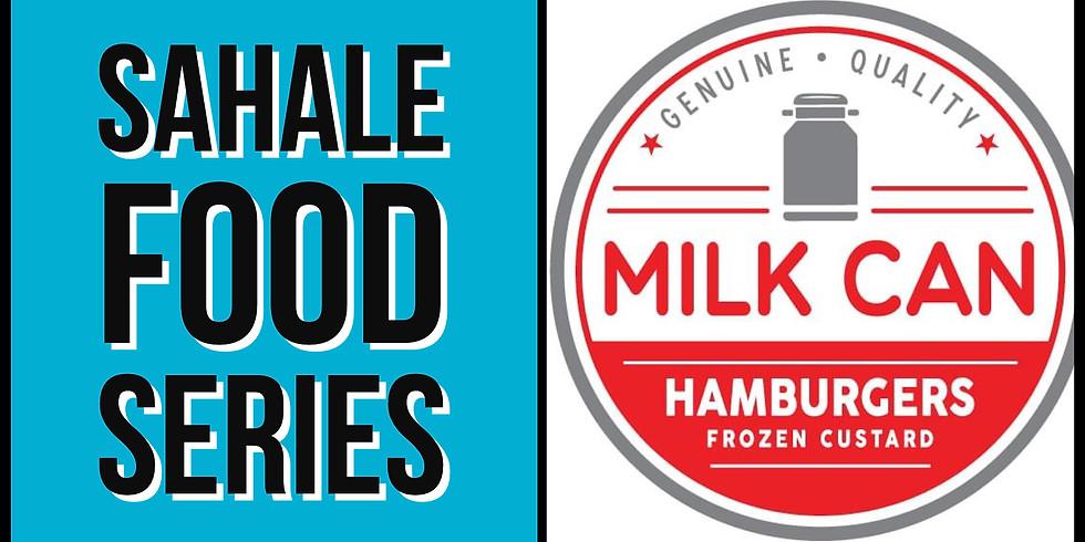 Sahale Food Series - Milk Can Hamburgers