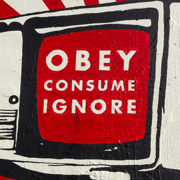 Obey More, Mural