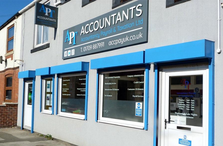 APT Accountants 139 Furlong Road, Bolton upon Dearne, Rotherham S63 8HD