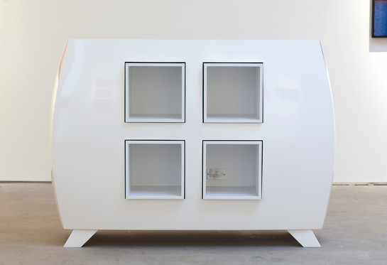 Anya Tish Gallery Cabinet