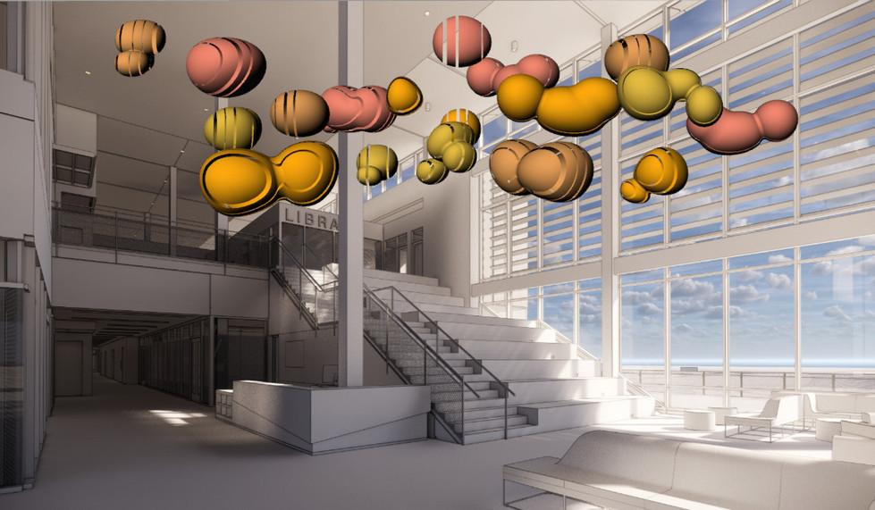 Public Art Chubby Molecule Concept