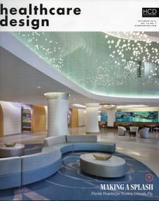 Healthcare Design Magazine cover
