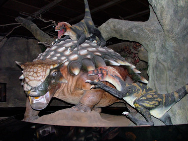 Velocoraptors Attacking, Houston Museum of Natural Science