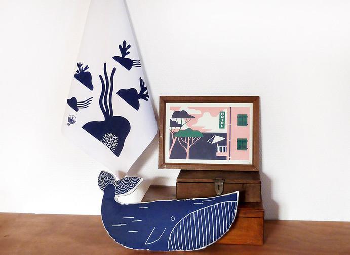 ambiance Mermade baleine