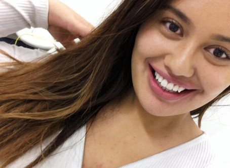 The wonderful Ariana Omipi with a Lovelysmile