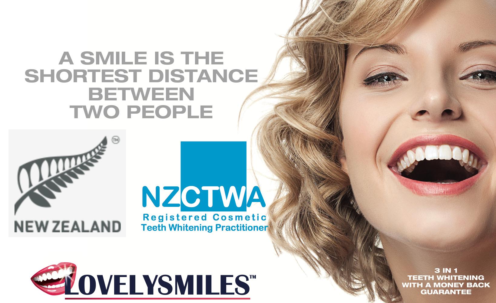 Teeth Whitening | New Zealand | Lovelysmiles Professional