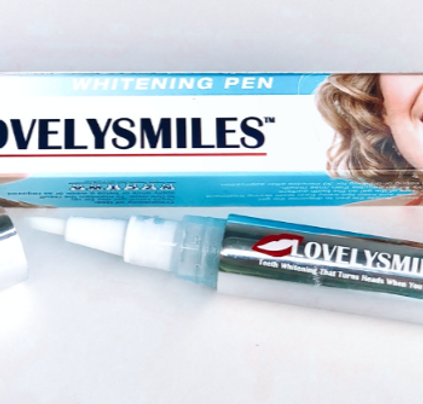 Lovelysmiles 3 in 1 Teeth Whitening Pen