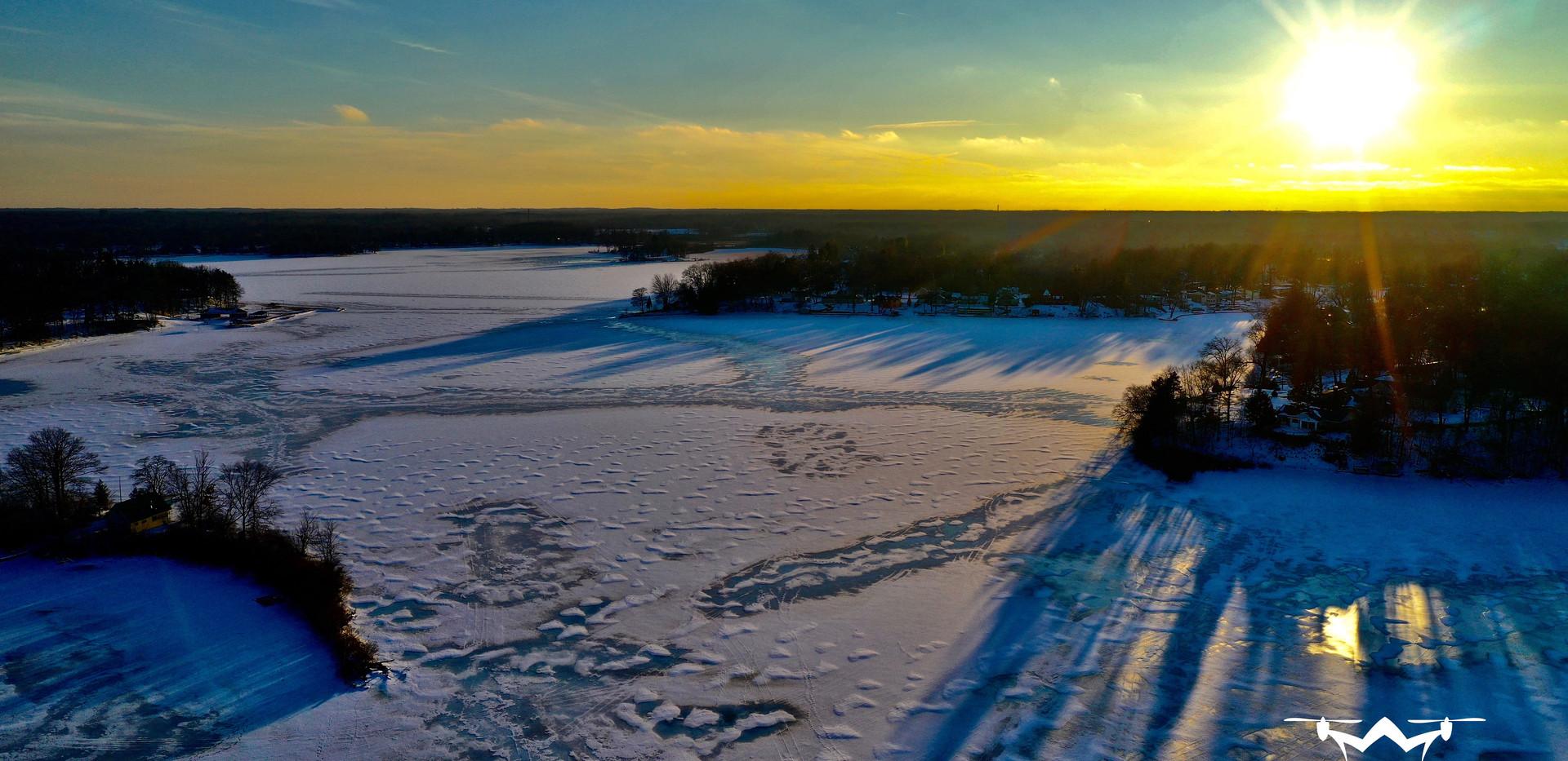 Goguac Lake Battle Creek Patman Droneography