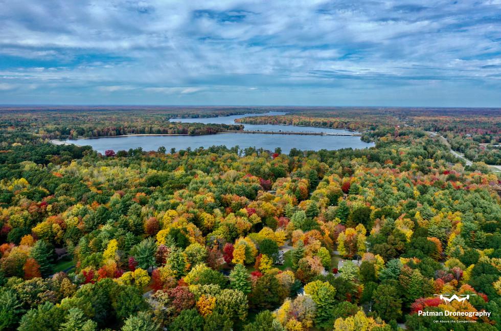 Sanford Lake Drone Patman Droneography