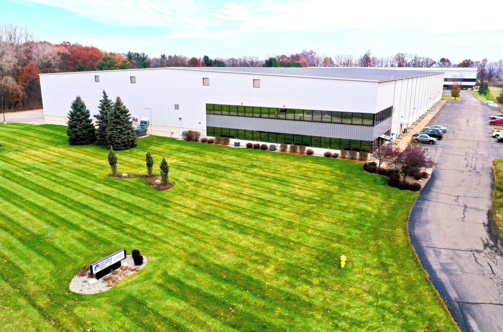 Commercial Real Estate Drone Battle Creek Michigan Patman Droneography
