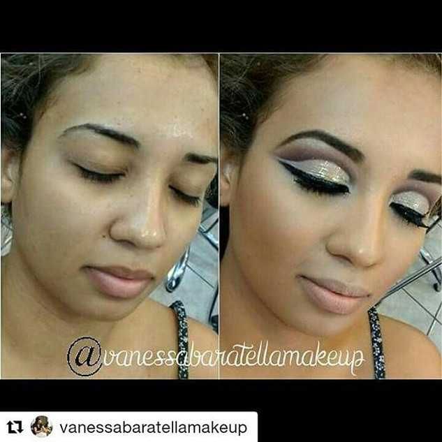 #Repost _vanessabaratellamakeup with _re